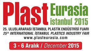 Plast Eurasia İstanbul 2015 Fuarı