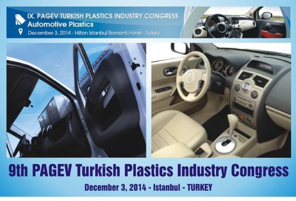 9. PAGEV Türk Plastik Endüstrisi Kongresi