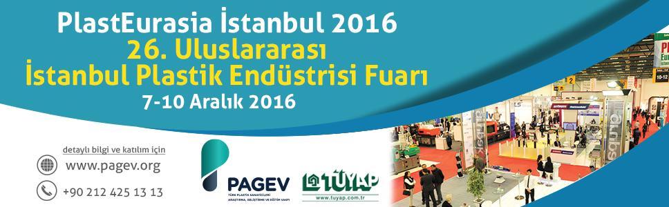 Plast Eurasia Fuarı 2016 İstanbul