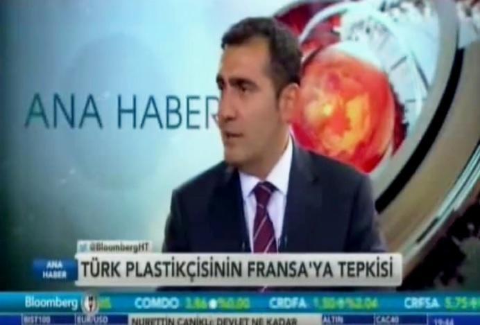 PAGEV Başkanı Yavuz EROĞLU Bloomberg HT de Fransa'nın Plastik Yasağına karşın açıklamalarda bulundu