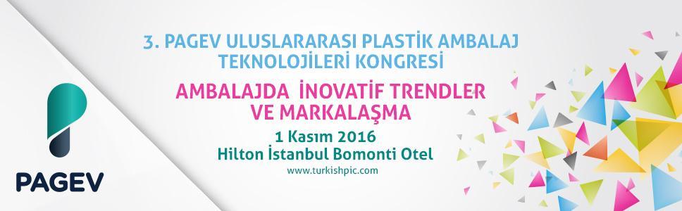 PAGEV 3. Uluslararası Plastik Ambalaj Teknolojileri Kongresi