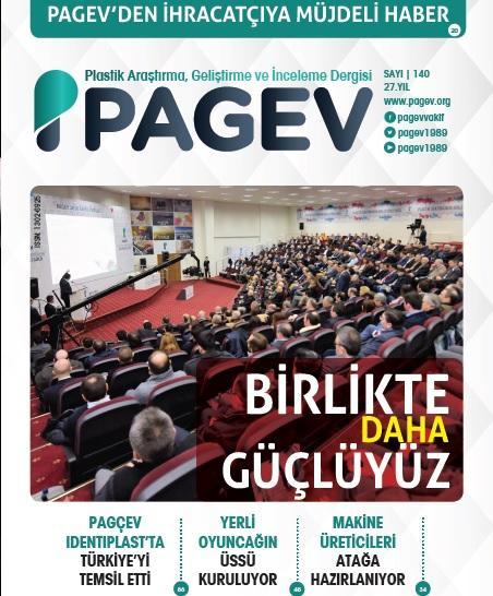 PAGEV Dergisi 140. Sayı
