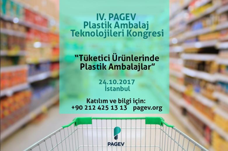 4. PAGEV Plastik Ambalaj Teknolojileri Kongresi 24 Ekim'de