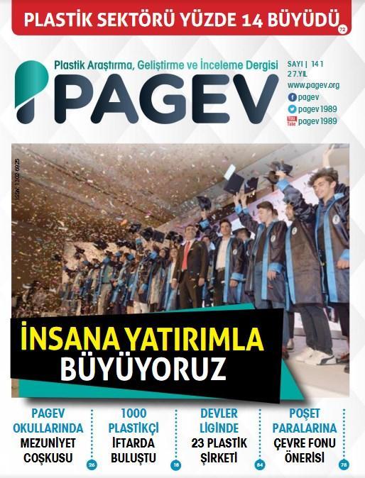 PAGEV Dergisi 141. Sayı