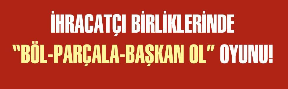 BİRLİĞİMİZİ BÖLME, MASRAFIMIZI ARTTIRMA!