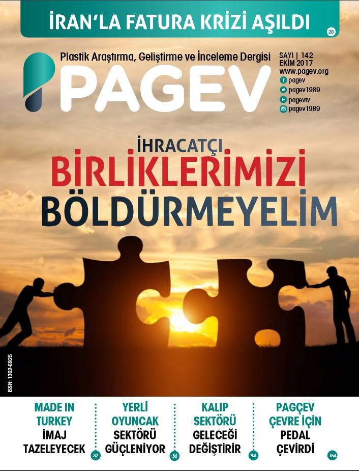 PAGEV Dergisi 142. Sayı