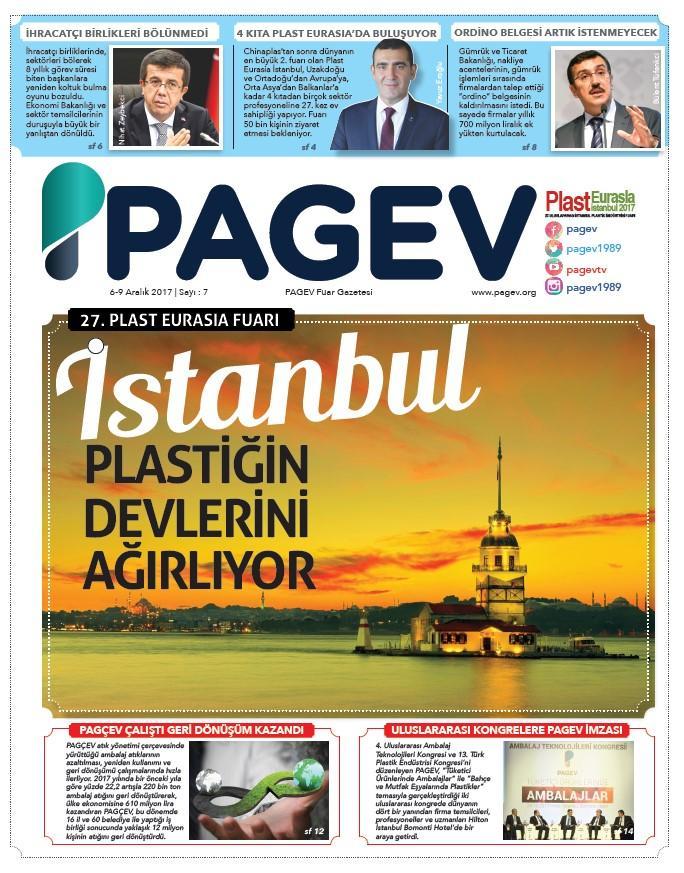 PlastEurasia 2017 PAGEV Fuar Gazetesi Sayı 7