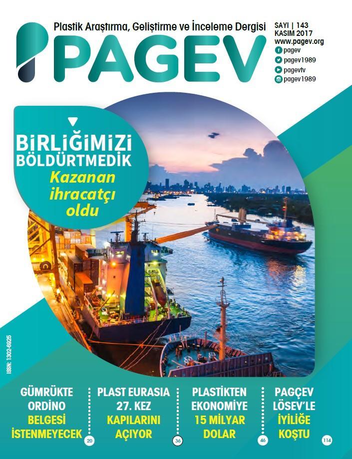 PAGEV Dergisi 143. Sayı