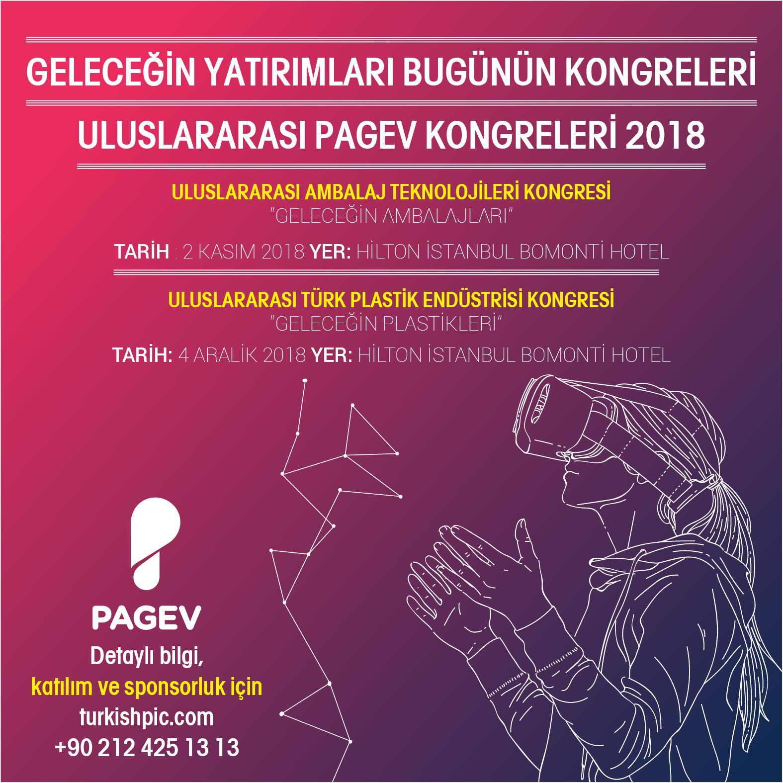 5. PAGEV Uluslararası Plastik Ambalaj Teknolojileri Kongresi