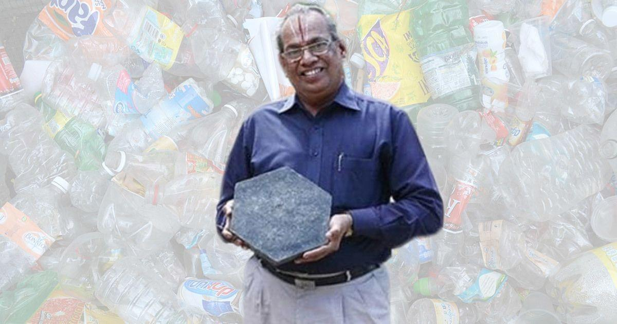 Hindistan'ın yolları plastikten