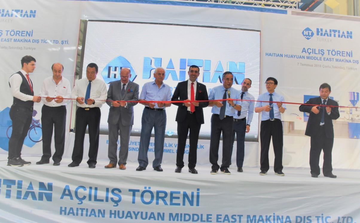 Haitian Türkiye, Çorlu Velimeşe'de Yeni Fabrikasını Açtı