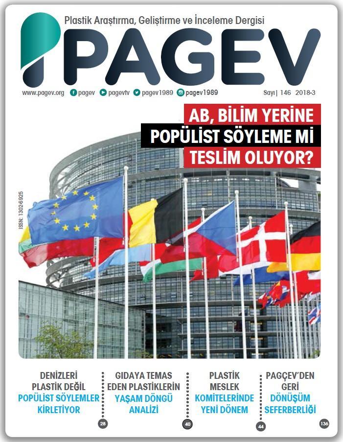 PAGEV Dergisi 146. Sayı