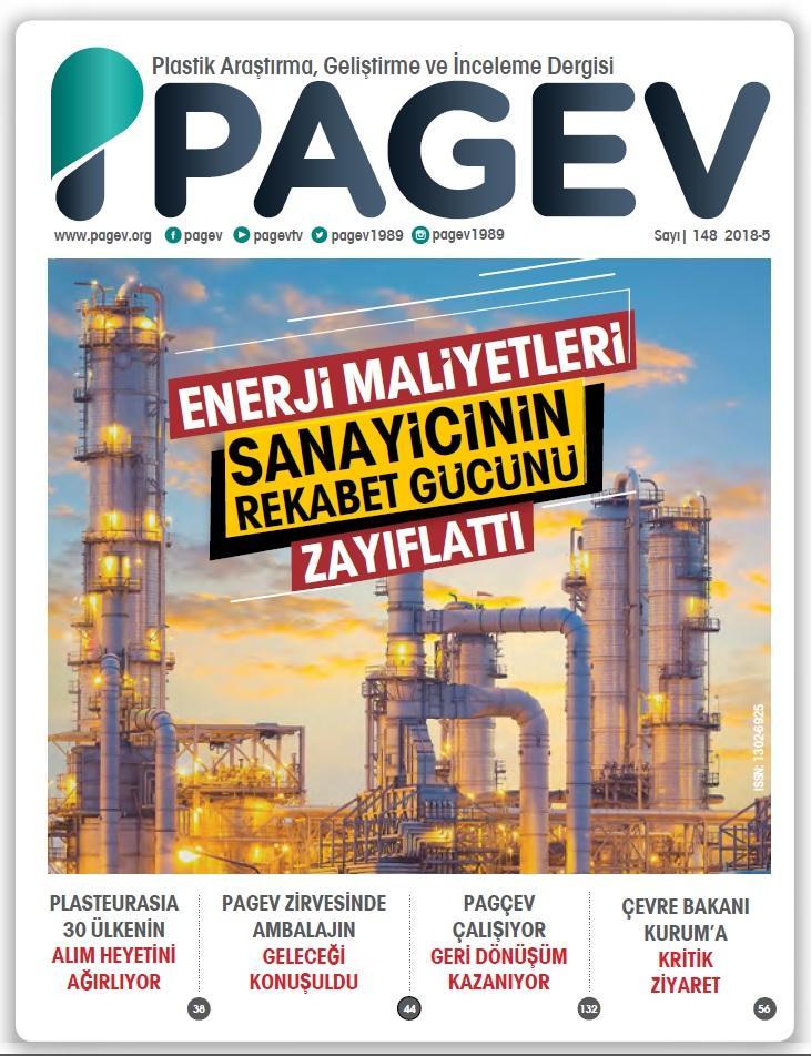 PAGEV Dergisi 148. Sayı