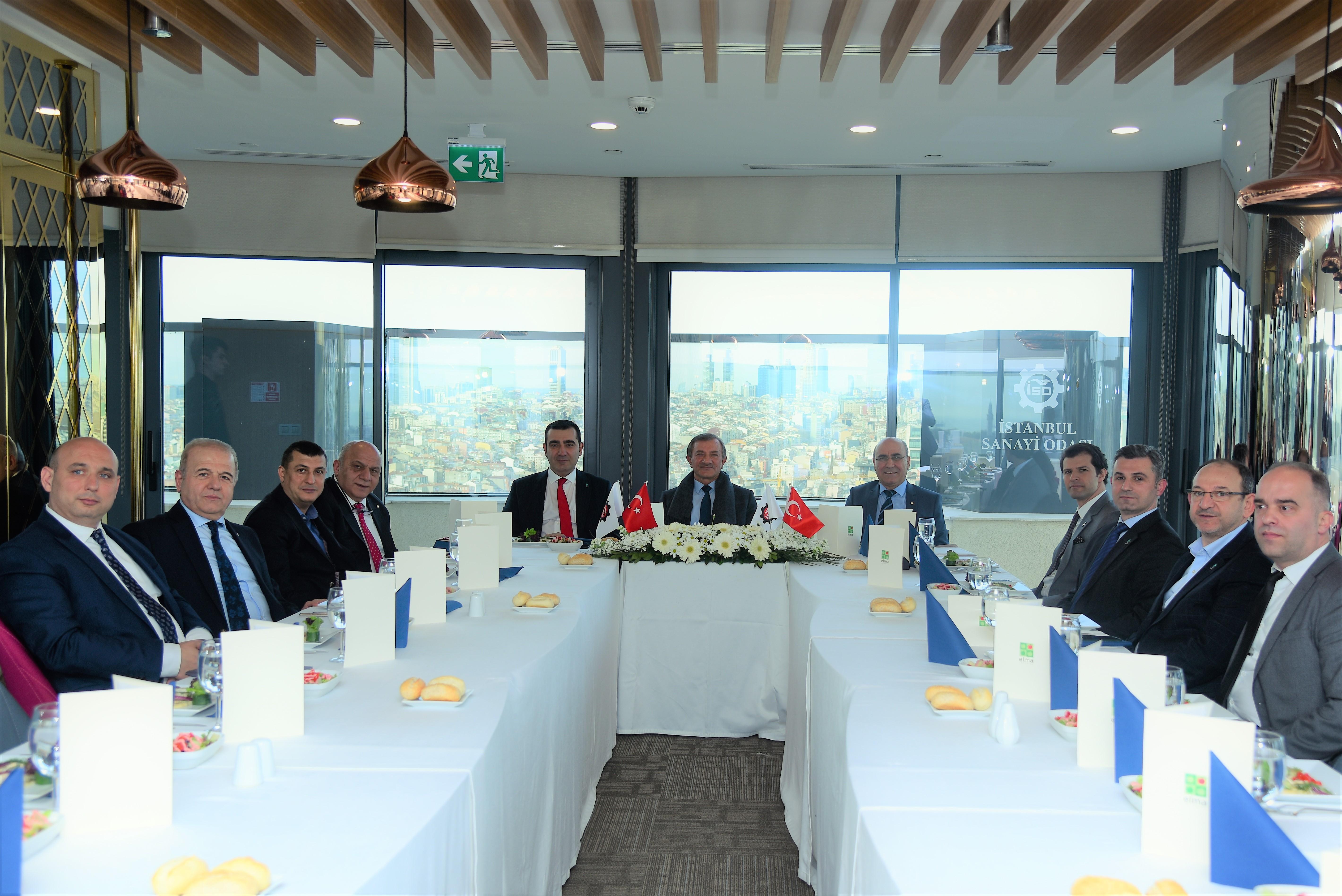 PAGEV Yönetim Kurulu, İSO 35. Grup Meslek Komitesi ile Sektör İstişare Toplantısı Gerçekleştirdi