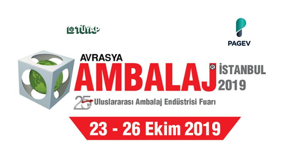 Avrasya Ambalaj Fuarı 2019 İstanbul