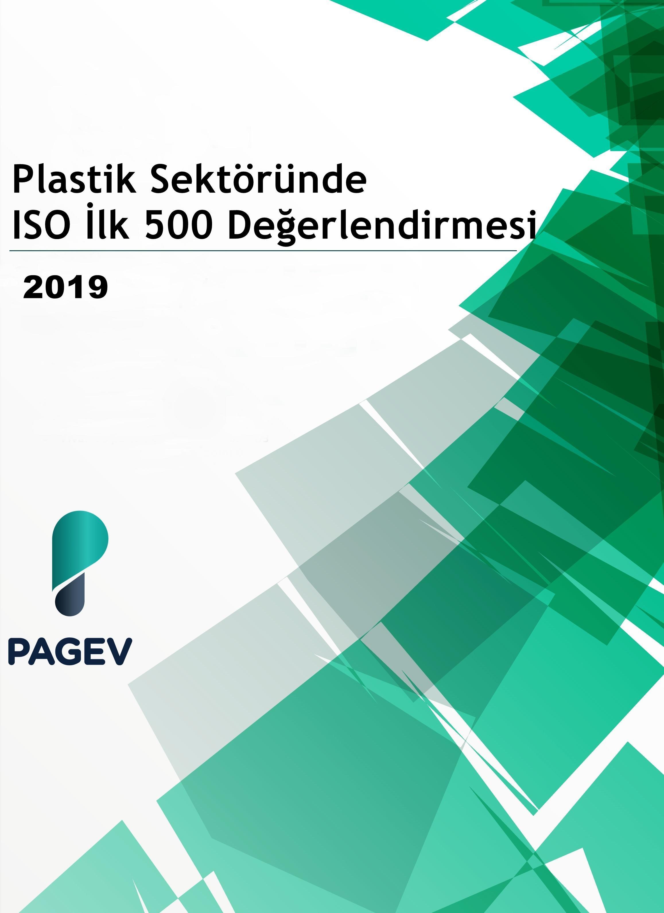 Plastik Sektöründe İSO İlk 500 Firma Değerlendirmesi-2019