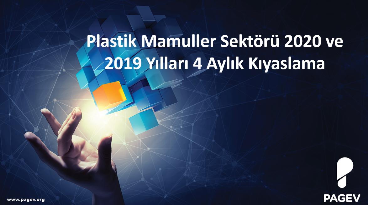 Plastik Mamuller Sektörü 2020 ve 2019 Yılları 4 Aylık Kıyaslama