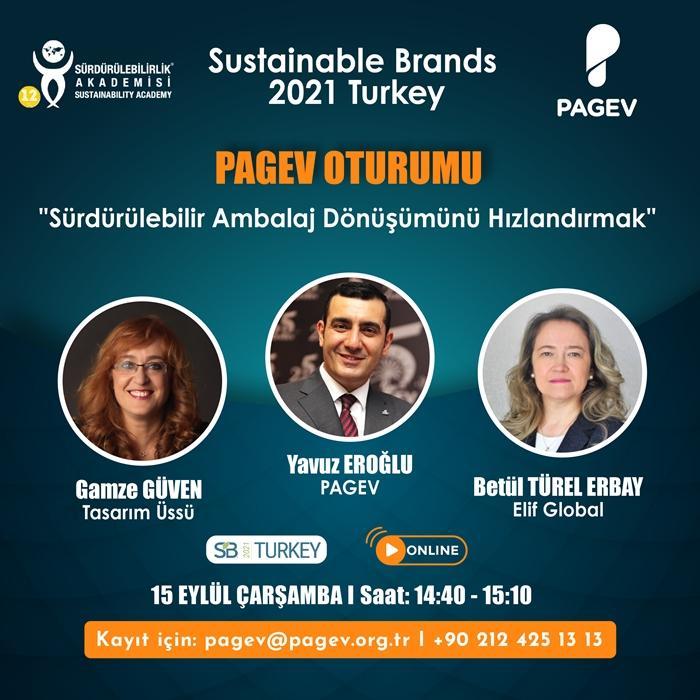 Sustainable Brands Turkey PAGEV Oturumuna katılarak, SÜRDÜRÜLEBİLİR AMBALAJ DÖNÜŞÜMÜNÜ HIZLANDIRIN!
